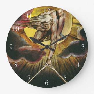 Urizen - William Blake - The Ancient of Days Large Clock