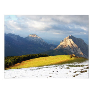 Urkiola mountains in Basque Country Photo