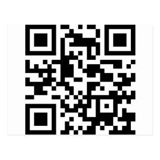 url Barcode Postcard