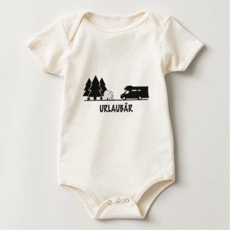 Urlaubär Baby Bodysuit
