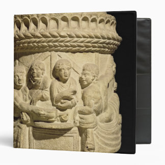 Urn depicting a family meal, from Aquileia 3 Ring Binder
