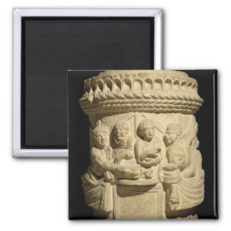Urn depicting a family meal, from Aquileia Magnet