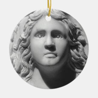 Urn Face Ceramic Ornament