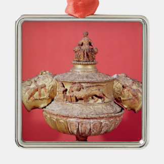 Urn used for dogal elections metal ornament
