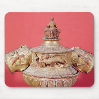Urn used for dogal elections mouse pad