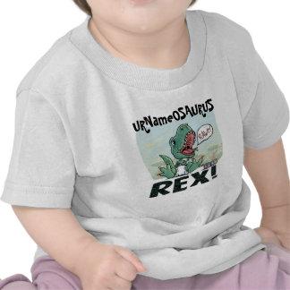 URNameOSURUS Rex by Mudge Studios T Shirt