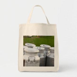 Urnas de la leche bolsa tela para la compra