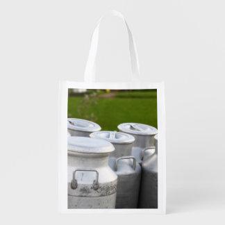 Urnas de la leche bolsas para la compra