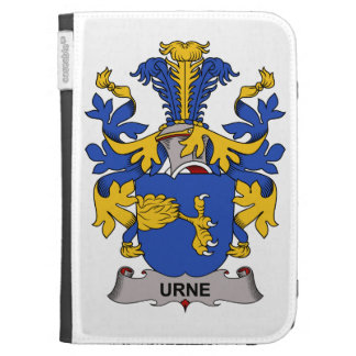 Urne Family Crest Kindle Folio Cases