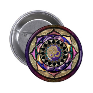 ¡UROCK! Mandala de la sorpresa Pin Redondo 5 Cm