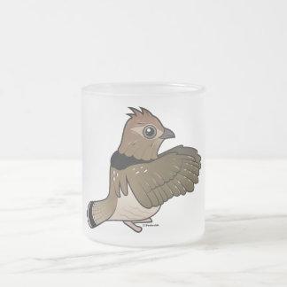 Urogallo superado (el teclear) taza cristal mate
