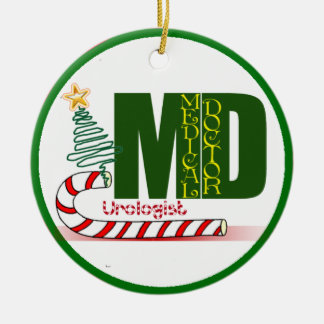 Urologist MERRY CHRISTMAS DOCTOR PHYSICIAN Ornaments