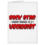 Urólogo de la estrella del rock… felicitacion