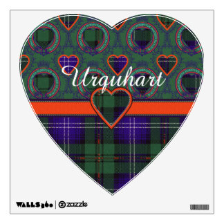 Urquart clan Plaid Scottish tartan Wall Sticker