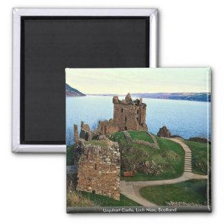 Urquhart Castle, Loch Ness, Scotland 2 Inch Square Magnet