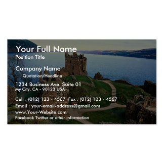 Urquhart Castle, Loch Ness, Scotland Double-Sided Standard Business Cards (Pack Of 100)