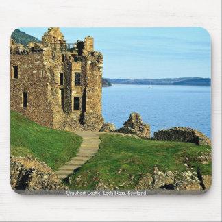 Urquhart Castle, Loch Ness, Scotland Mouse Pad