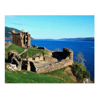 Urquhart Castle, Loch Ness, Scotland Postcard