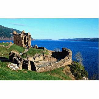 Urquhart Castle, Loch Ness, Scotland Statuette