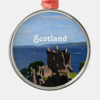 Urquhart Castle Metal Ornament