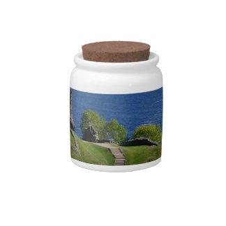 Urquhart Castle Ruins Candy Jars