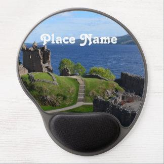 Urquhart Castle Ruins Gel Mouse Pad