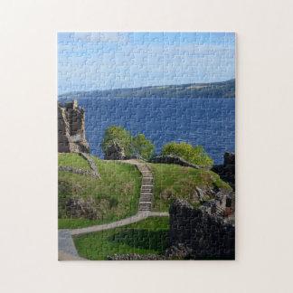 Urquhart Castle Ruins Jigsaw Puzzle