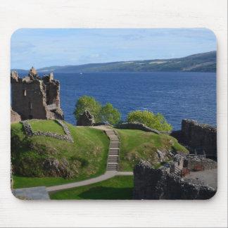 Urquhart Castle Ruins Mouse Pad