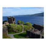 Urquhart Castle Ruins Post Card