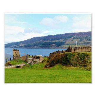 Urquhart Castle Scotland Photo Art