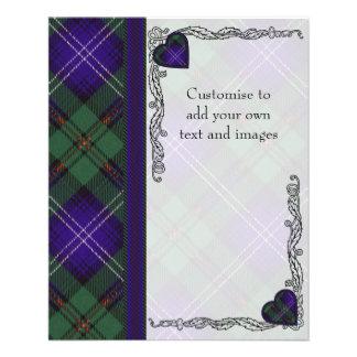 Urquhart clan Plaid Scottish tartan Flyer