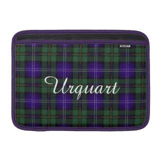 Urquhart clan Plaid Scottish tartan MacBook Sleeve