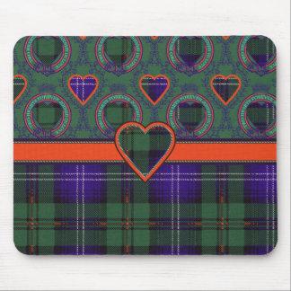 Urquhart clan Plaid Scottish tartan Mouse Pad