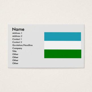 urrao, Columbia Business Card