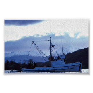 Ursa Major at Uyak Bay, Kodiak Poster
