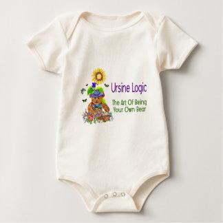 Ursine Logic Bear Baby Bodysuit
