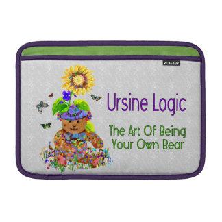 Ursine Logic Bear MacBook Sleeve