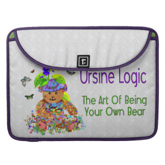 Ursine Logic Bear Sleeve For MacBook Pro