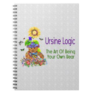 Ursine Logic Bear Notebook