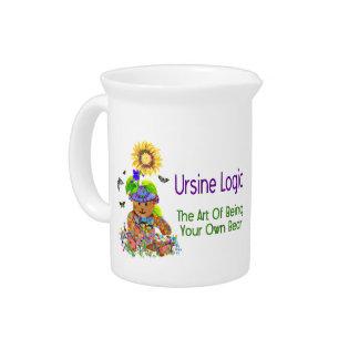 Ursine Logic Bear Beverage Pitcher