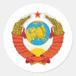 URSS ETIQUETA REDONDA