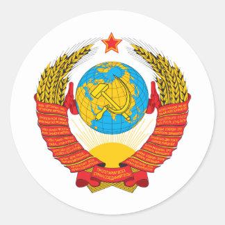 URSS PEGATINA REDONDA