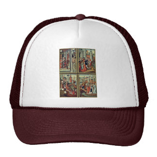Ursula Altar Left Wing: Scenes From The Life Of St Trucker Hat
