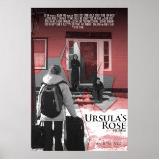 Ursula's Rose Poster