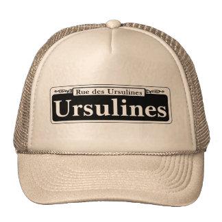 Ursulines St., New Orleans Street Sign Trucker Hat