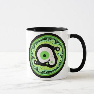 Uru Native Fractal - Green Mug