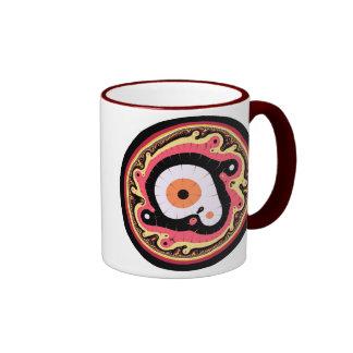 Uru Native Fractal - Red Mug