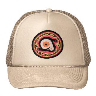 Uru Native Fractal - Red Trucker Hats