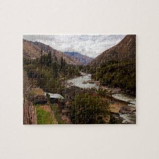 Urubamba Sacred River Valley Cusco Peru Jigsaw Puzzle