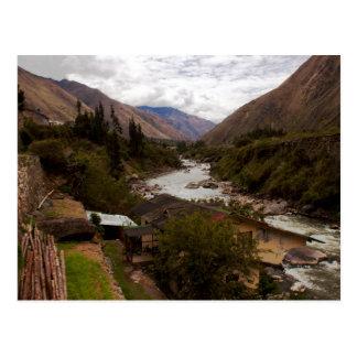 Urubamba Sacred River Valley Cusco Peru Postcard